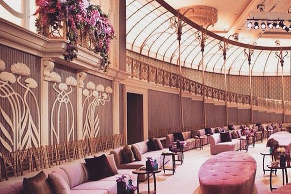 Création Pascale Gontier pour Grand Salon à Riyad