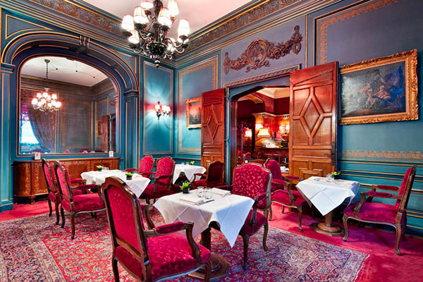 Création Pascale Gontier pour l'hôtel Raphaël à Paris