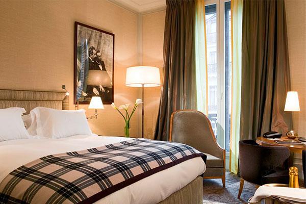 Création Pascale Gontier pour l'hôtel Scribe à Paris