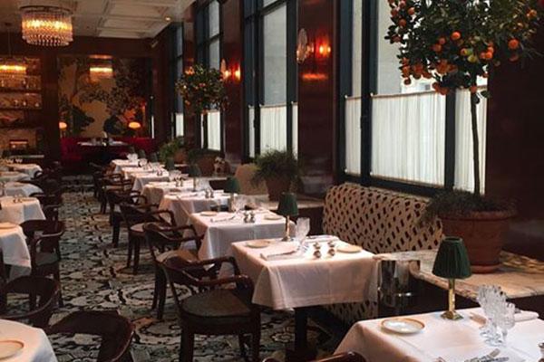 Restaurant Noto à Paris, Création Pascale Gontier